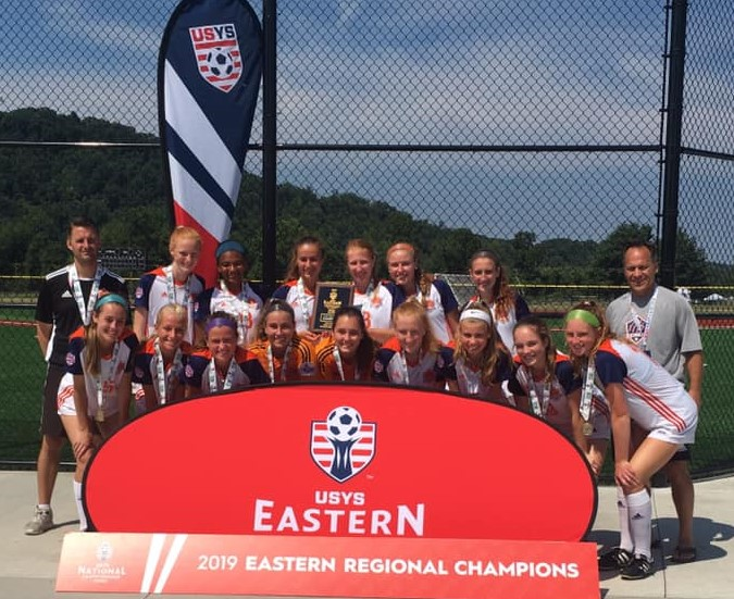1776 United FC 01 Girls Crowned USYSA U18 Eastern Regional Champions, 2007 Boys Finalists!